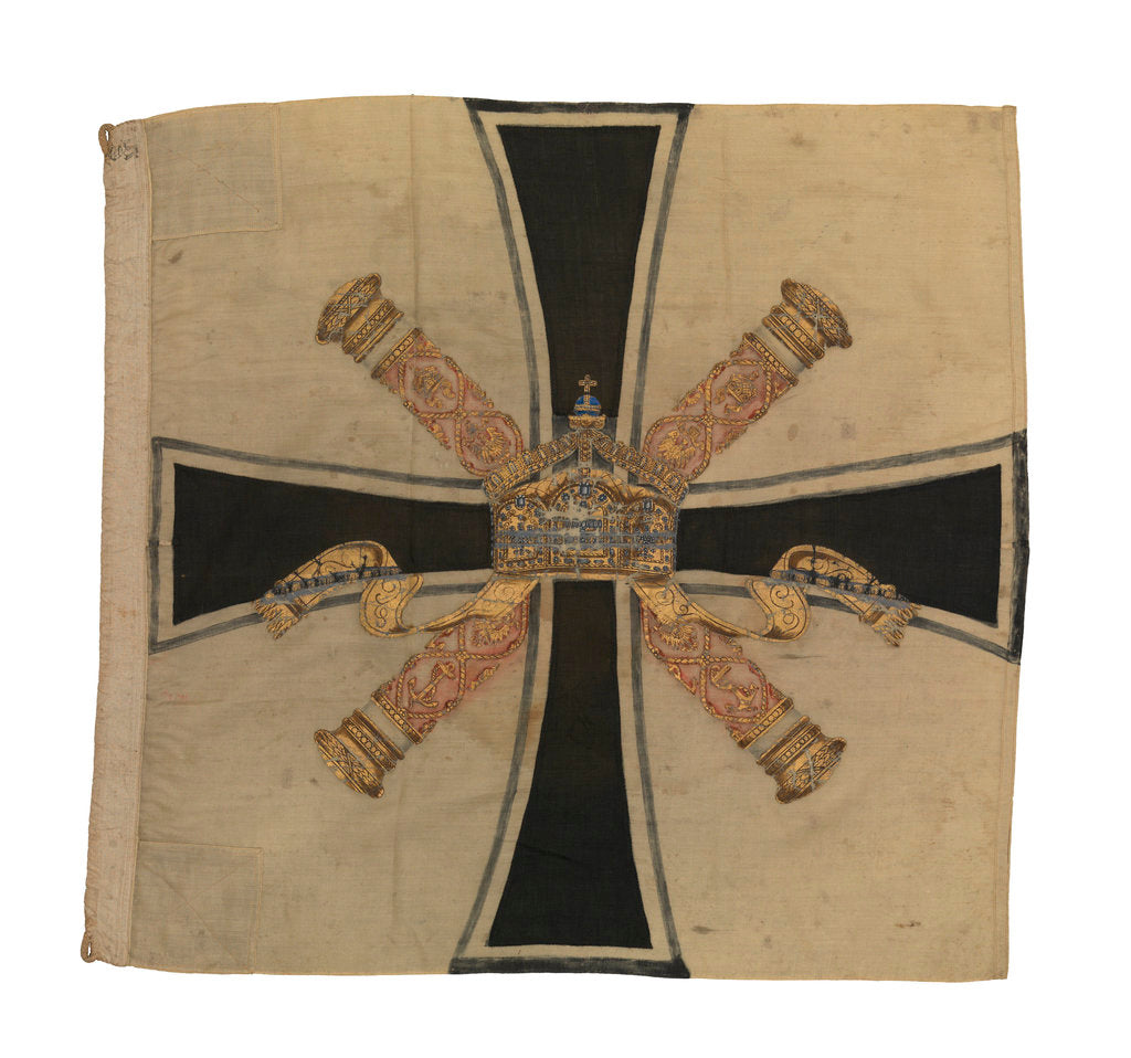 Detail of Command flag, Admiral of the Fleet, Imperial Germany (before 1919) by unknown