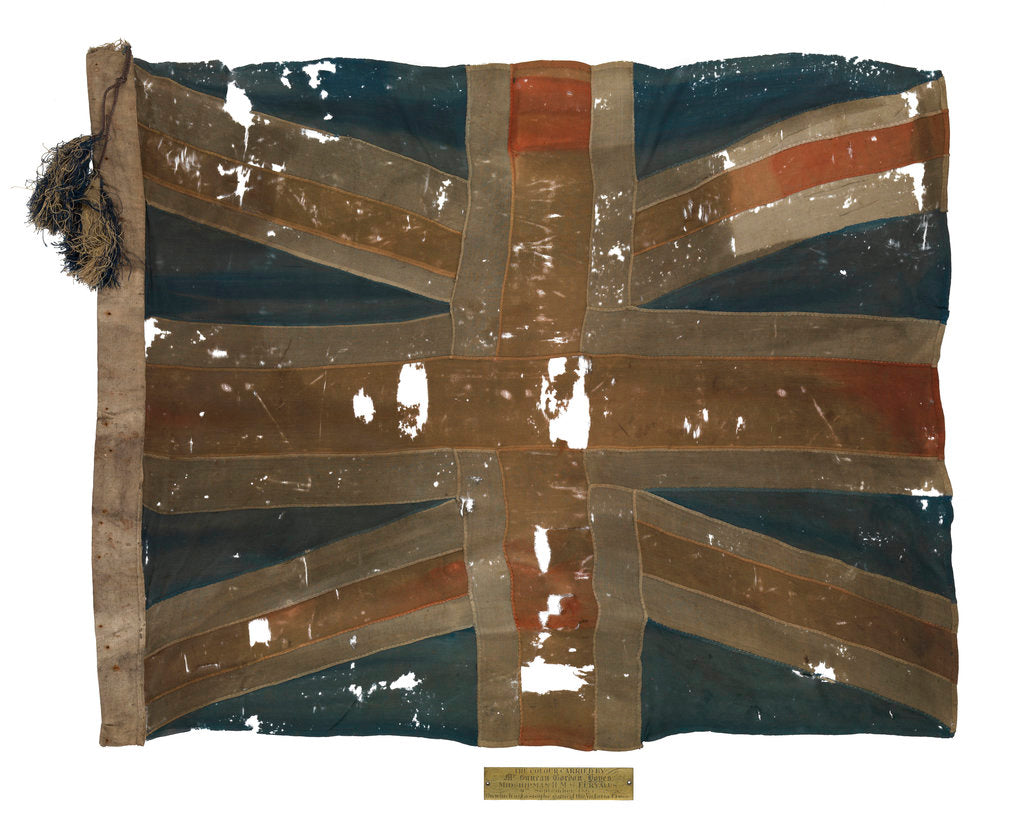 Detail of Union flag by unknown