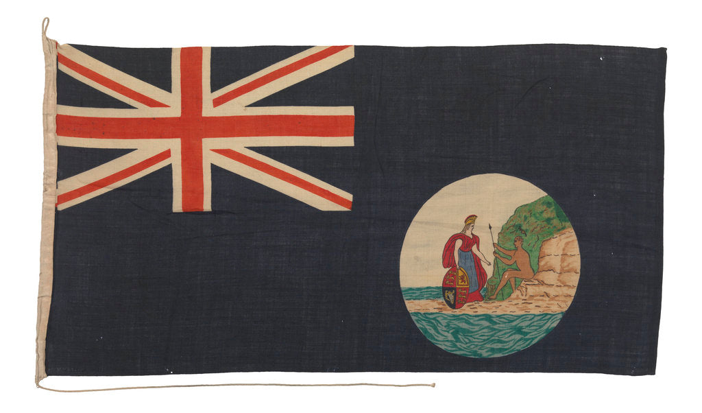 Detail of Blue Ensign of South Australia by unknown