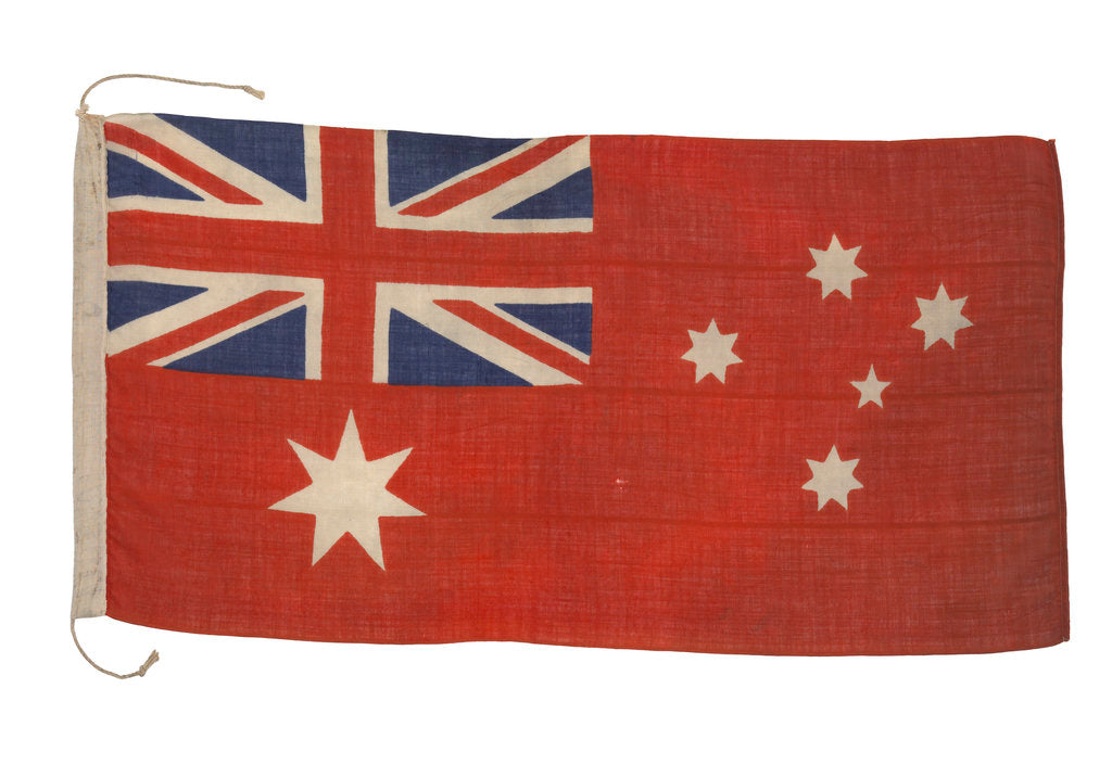Detail of Australian merchant ensign (after 1909) by unknown