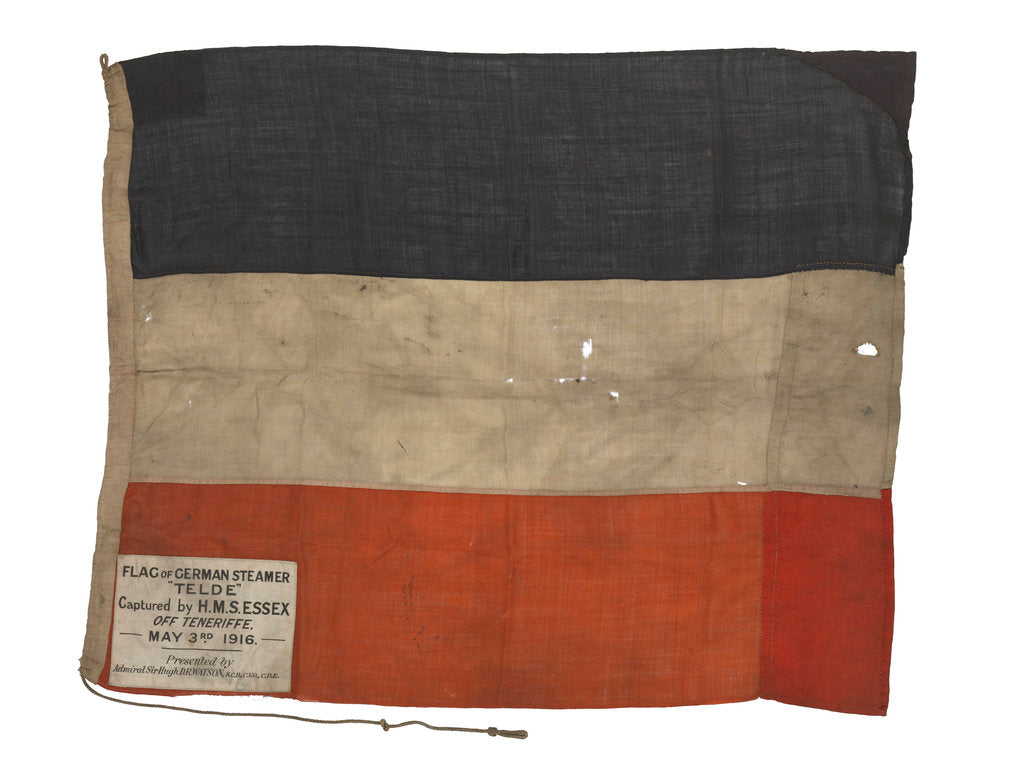 Detail of Imperial German merchant ensign (1871-1919) by unknown