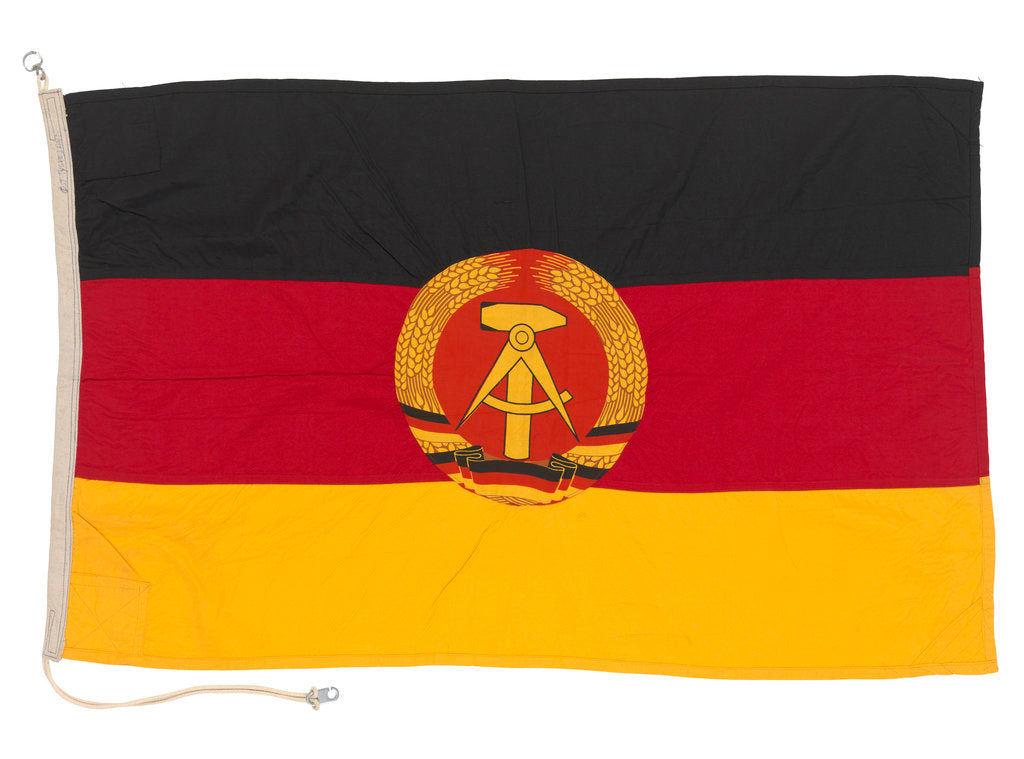 Detail of National flag of the German Democratic Republic (1959-1990) by unknown
