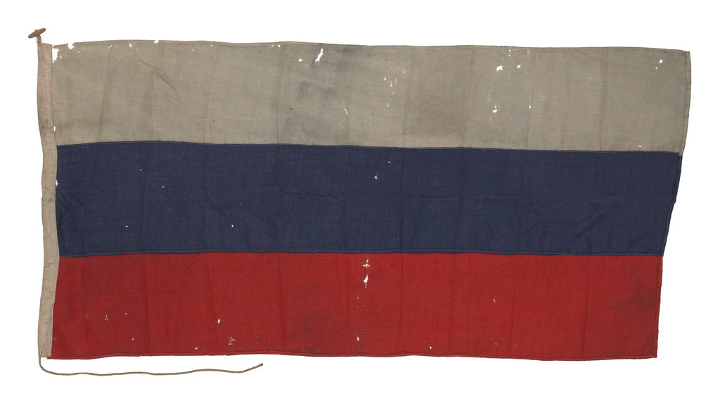 Detail of Russian Merchant ensign (1799-1917, after 1990) by unknown
