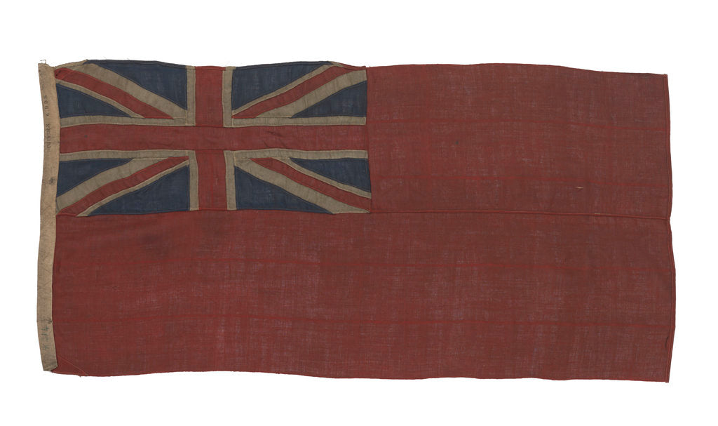 Detail of Red Ensign by unknown