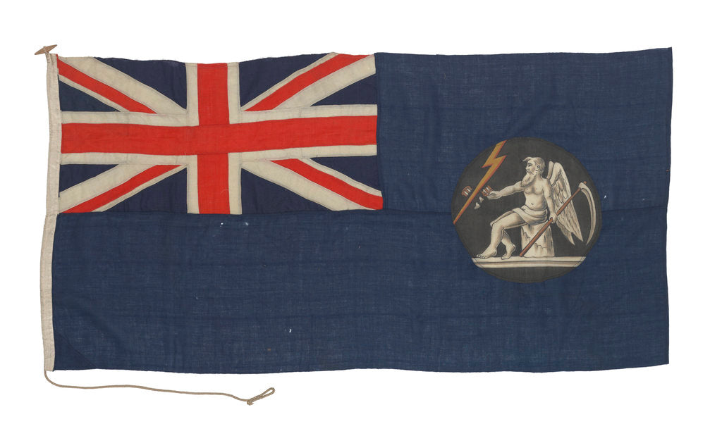Detail of General Post Office Blue Ensign by unknown