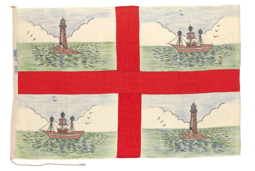 Detail of Flag, Irish Lights Commissioners by unknown