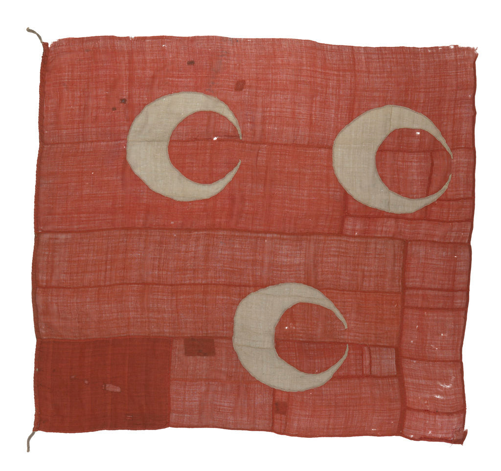 Detail of Turkish flag by unknown
