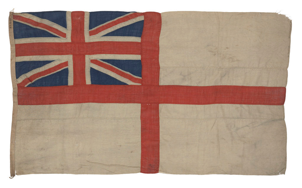 Detail of White Ensign by unknown
