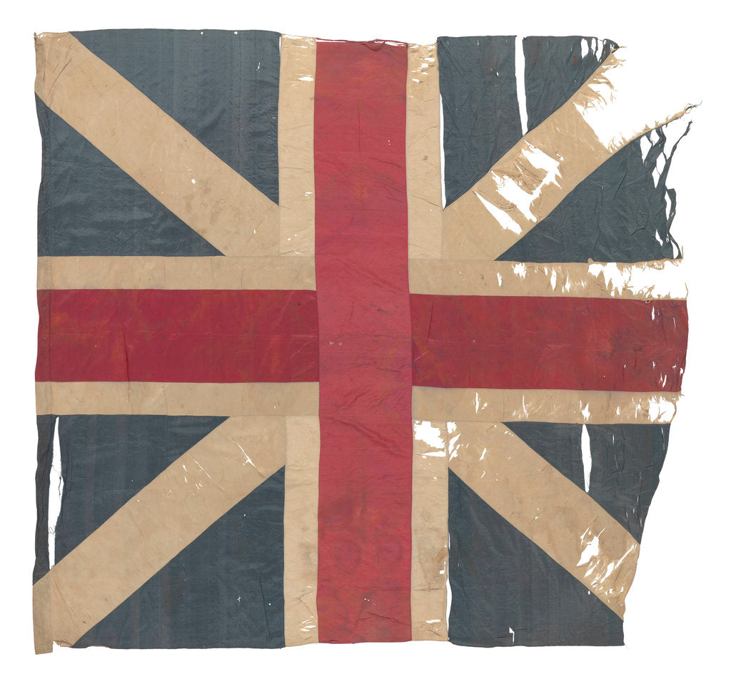 Detail of Union Flag (before 1801) by unknown