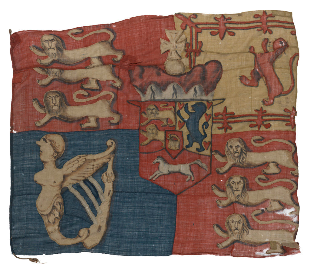 Detail of Royal Standard (1801-1816) by unknown