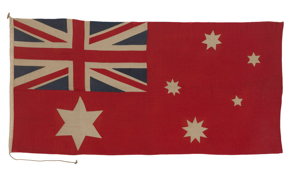 Detail of Australian Merchant ensign (1901 pattern) by unknown