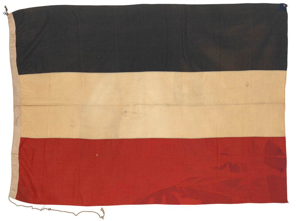Detail of Imperial German merchant ensign (1871-1919, 1933-1935) by unknown