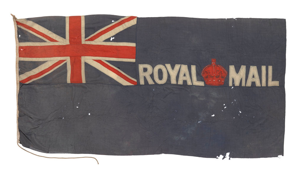 Detail of Royal Mail Blue Ensign by unknown