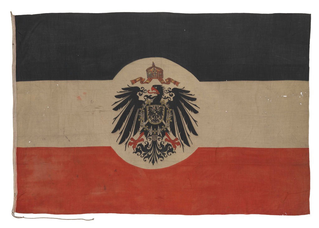 Detail of Ensign of the Imperial German Foreign Office (1892-1918) by unknown