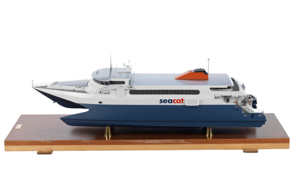 Detail of Hoverspeed Great Britain; Passenger/cargo vessel by Scale Model International