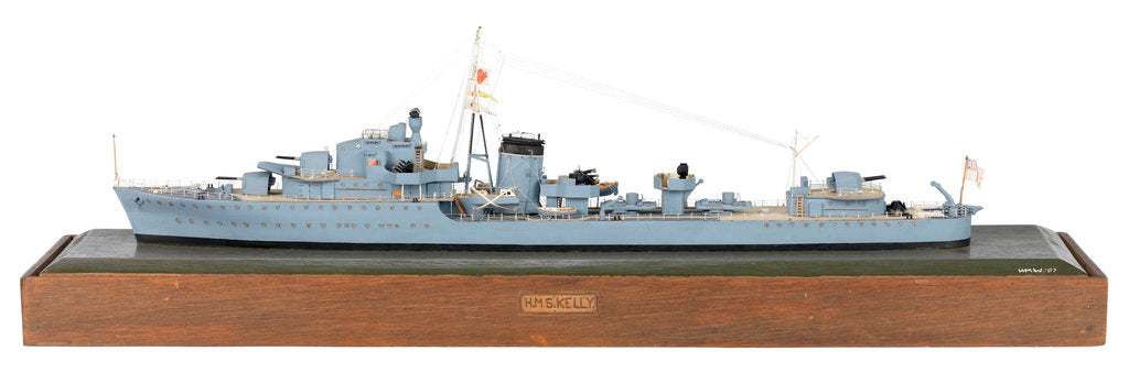 Detail of HMS 'Kelly' (1938) by H. M. W.