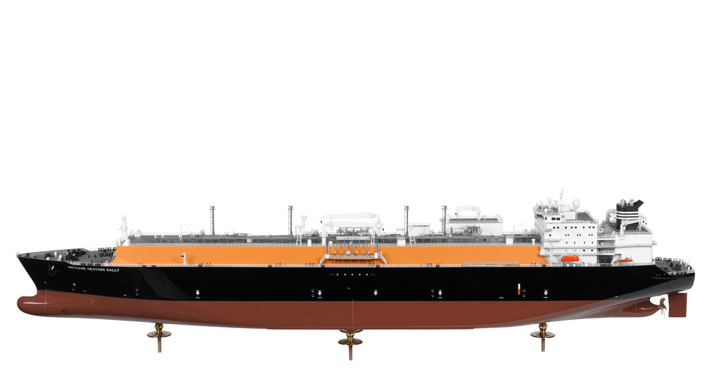 Detail of LNG Carrier Methane 'Heather Sally' by KOSMO