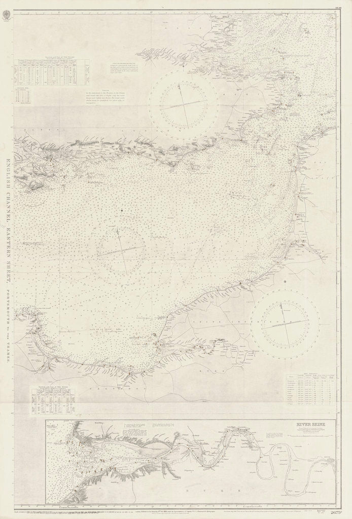 Detail of English Channel: Eastern Sheet by unknown