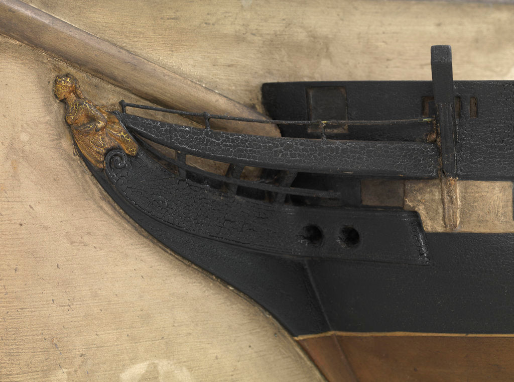 Detail of HMS 'Inconstant' (1836) by unknown