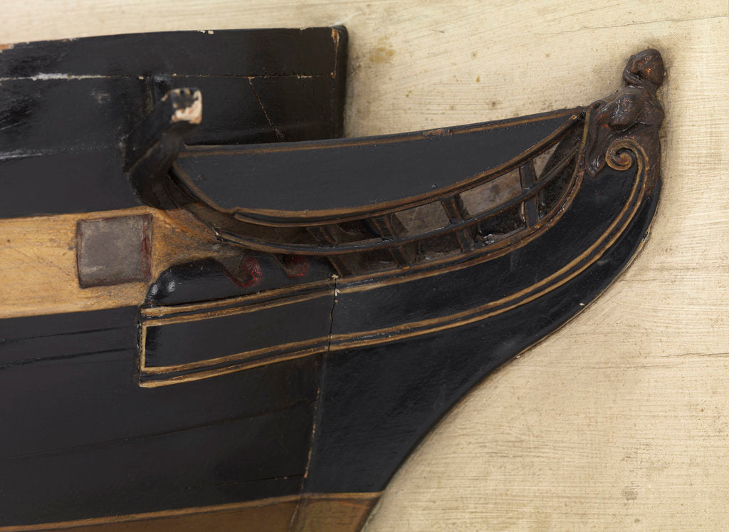 Detail of HMS 'Cambrian' (1797) by unknown