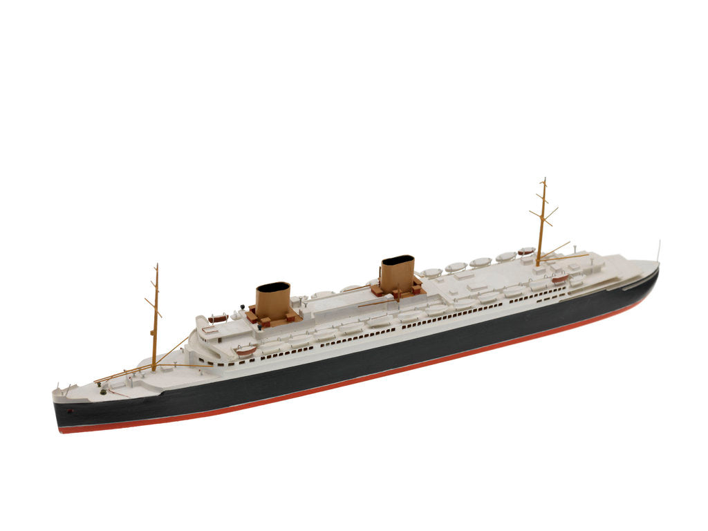 Detail of Waterline model; Miniature model by Bassett-Lowke Ltd