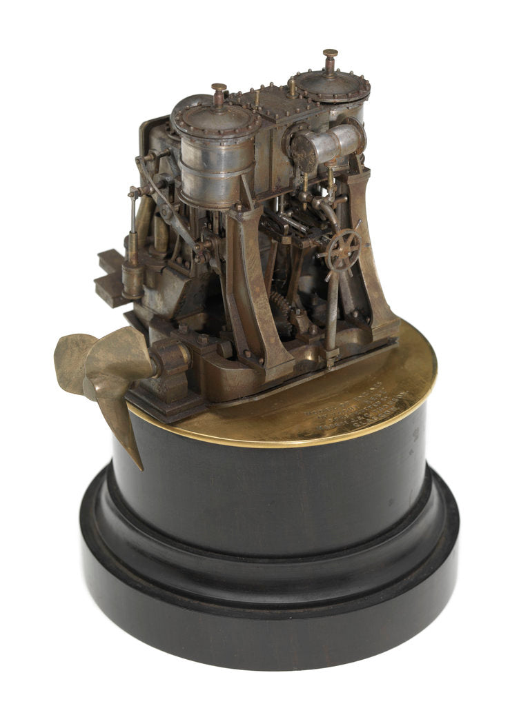 Detail of Engine model; Component model by J. & G. Thomson
