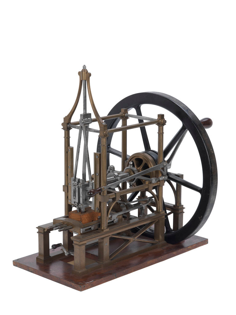 Detail of Structural model; Mortising machine by Marc Isambard Brunel