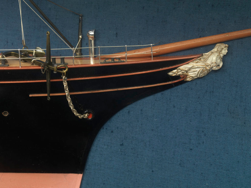 Detail of Service vessel; Cableship by unknown