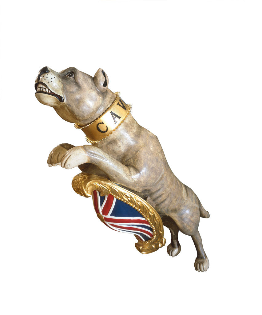 Detail of Figurehead from HMS 'Bulldog' by unknown