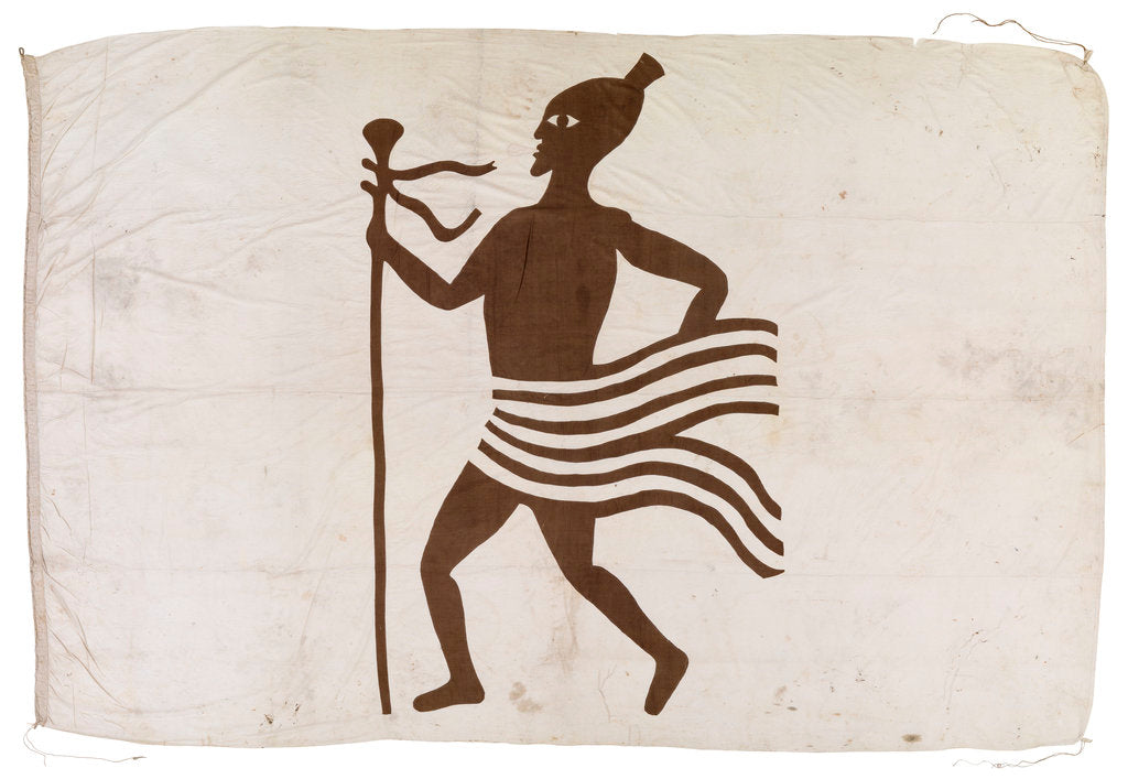 Detail of Flag of African Slaver by unknown