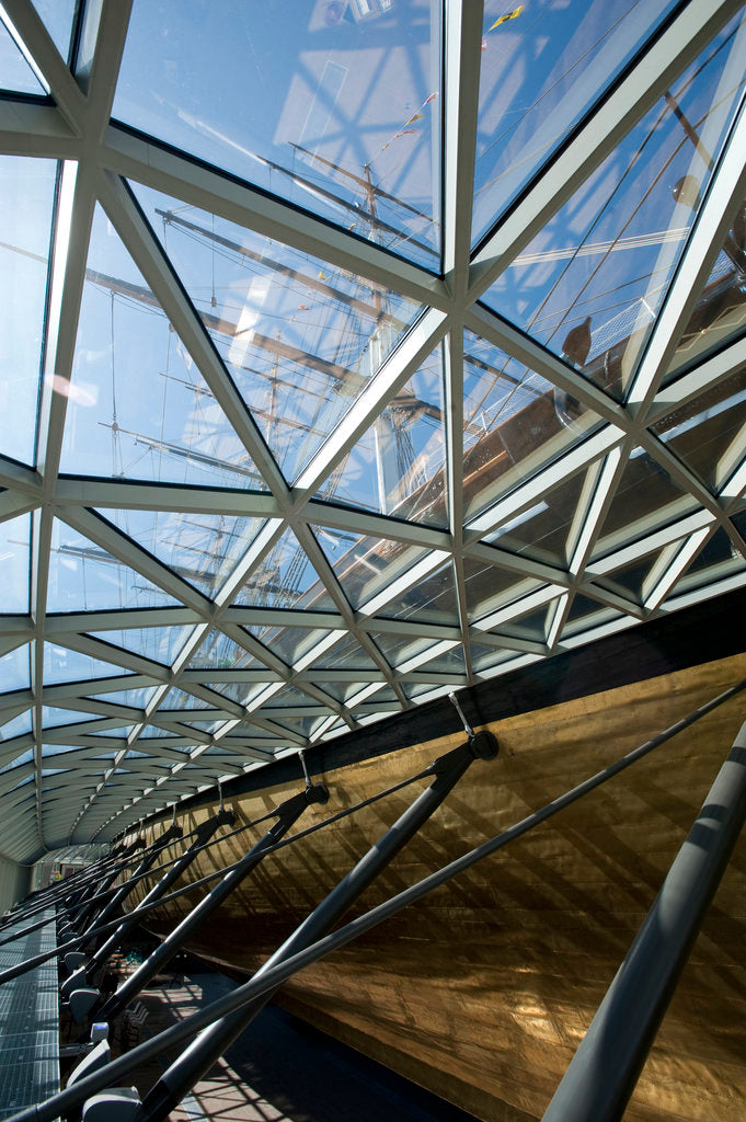 Detail of Refurbished clipper 'Cutty Sark' (1869), re-opened 25 April 2012 by National Maritime Museum Photo Studio