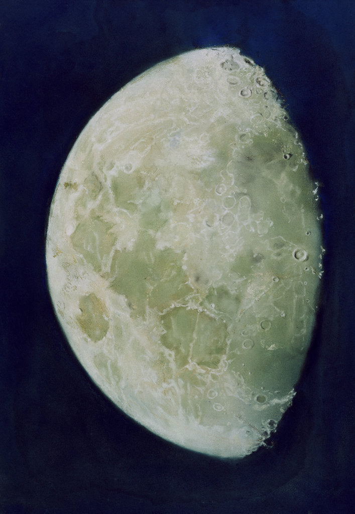 Detail of The Moon by John Russell