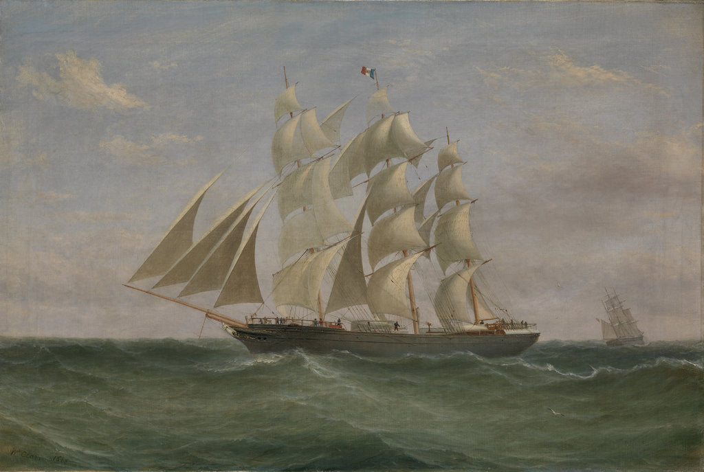The Barque: Helen Denny by William Clark