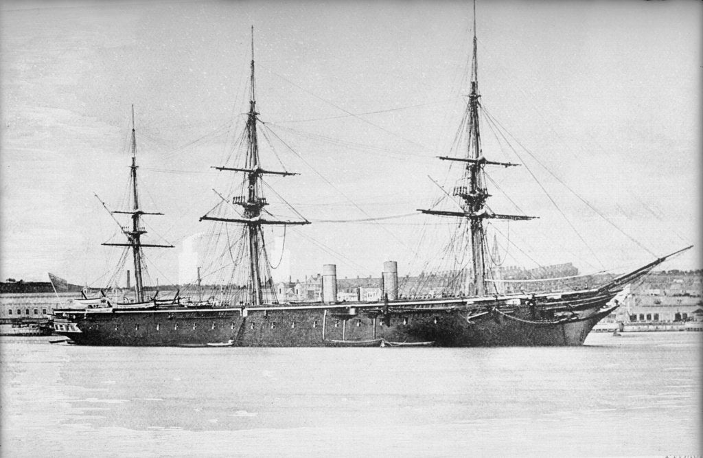 Detail of HMS 'Warrior' (1860) by unknown