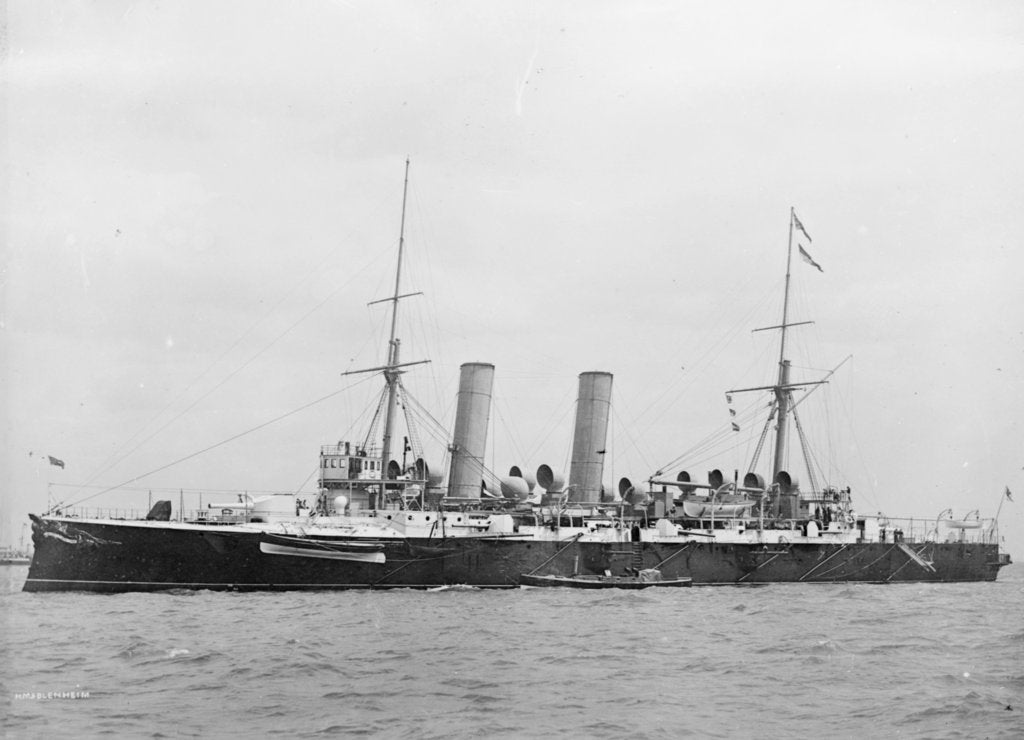 Detail of Photograph of the ship 'Blenheim' by unknown