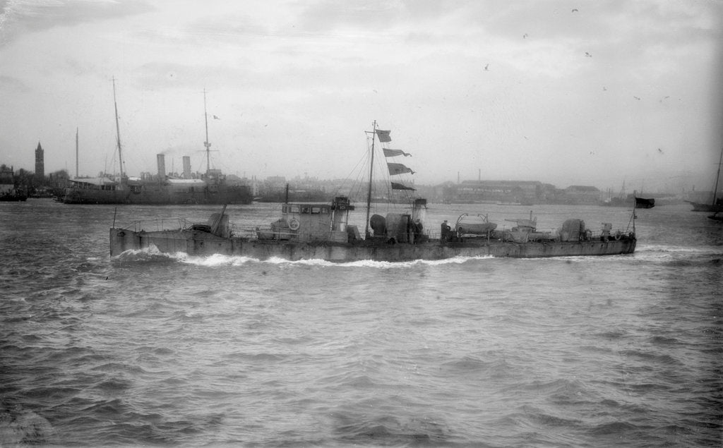 Detail of Torpedo boat, 1st class HMS 'TB 101' (1888) by unknown