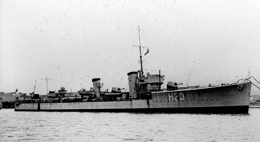 Detail of HMS 'Seabear' (Br,1918) by unknown