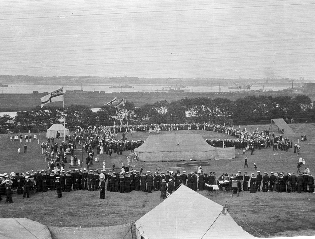 Detail of Harwich Force Sports Day, September 1916 by unknown