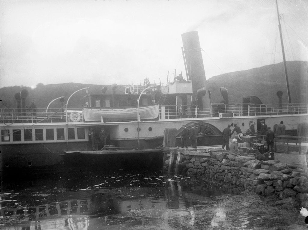 Detail of Tarbert, Argyllshire by unknown
