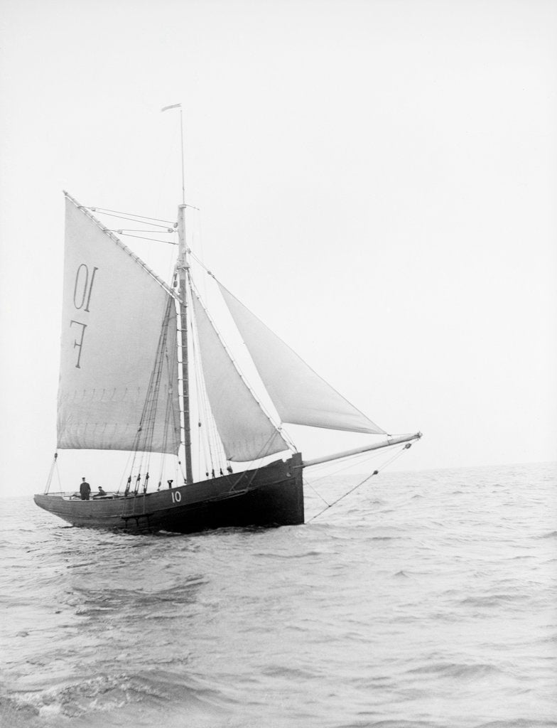 Detail of Pilot No. 10 (Br, 1852) under sail by unknown