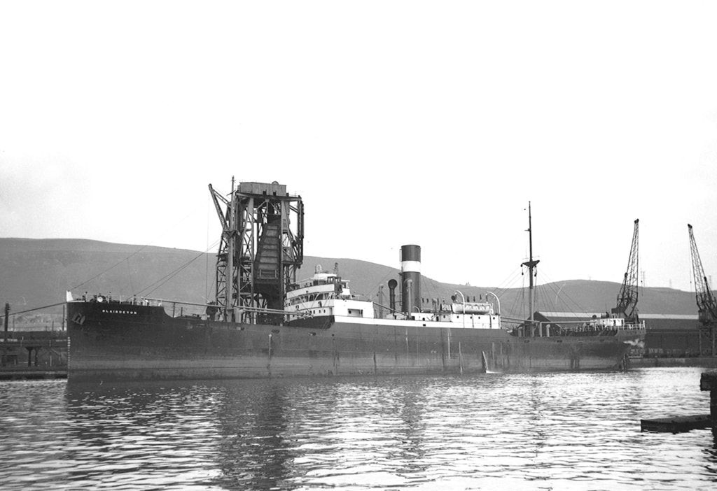 'Blairdevon' (Br, 1925), general cargo, Nisbet Shipping Co Ltd (G Nisbet & Co, managers) by unknown