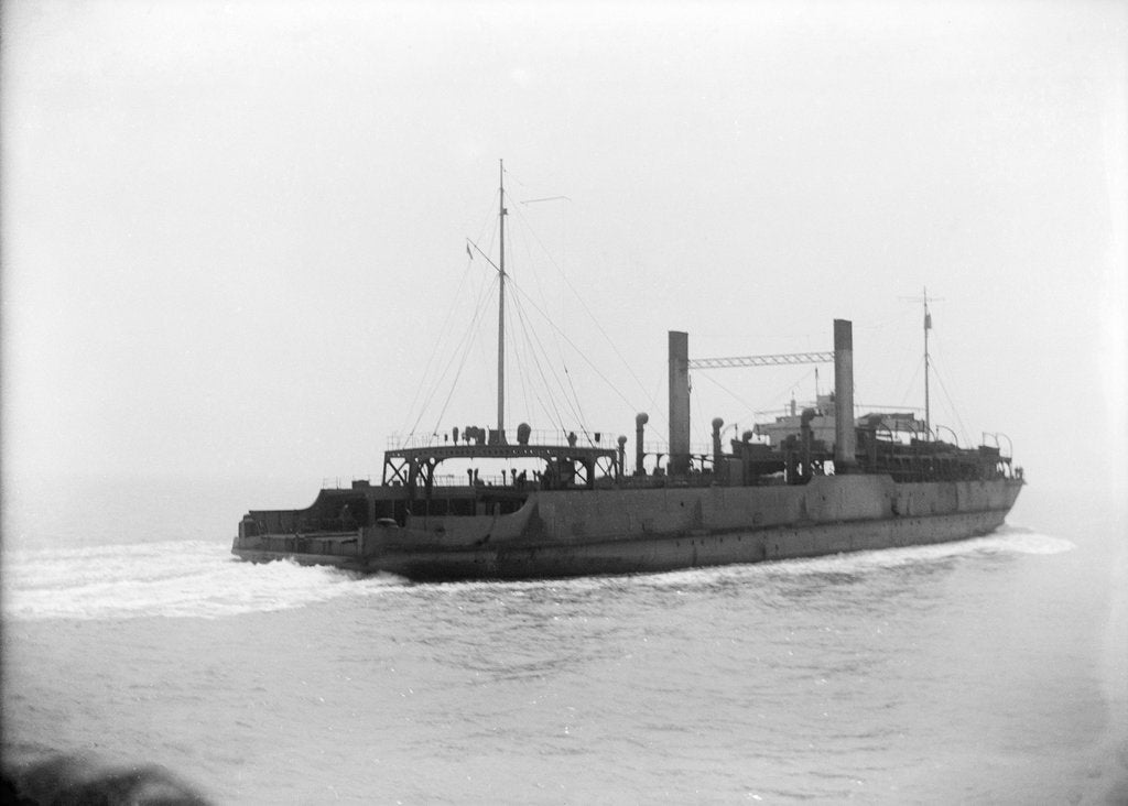 Starboard quarter view of Train Ferry No. 2 (1917) by unknown