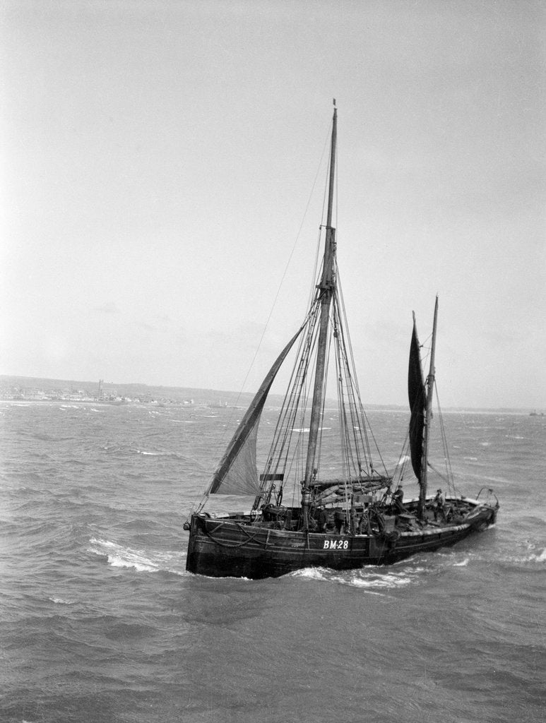 Detail of The Brixham trawler 'Provident'  (Britain, 1924), William Pillar, 5 Berry Head Road, Brixham by unknown