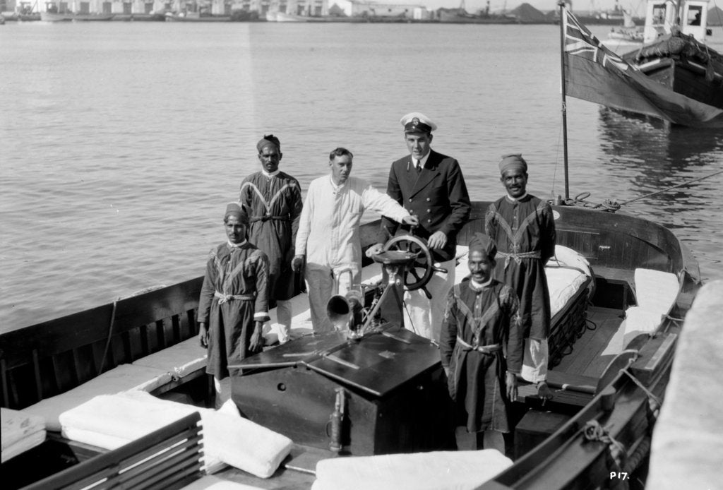 Crew of 'Stella Polaris' (1927) by unknown