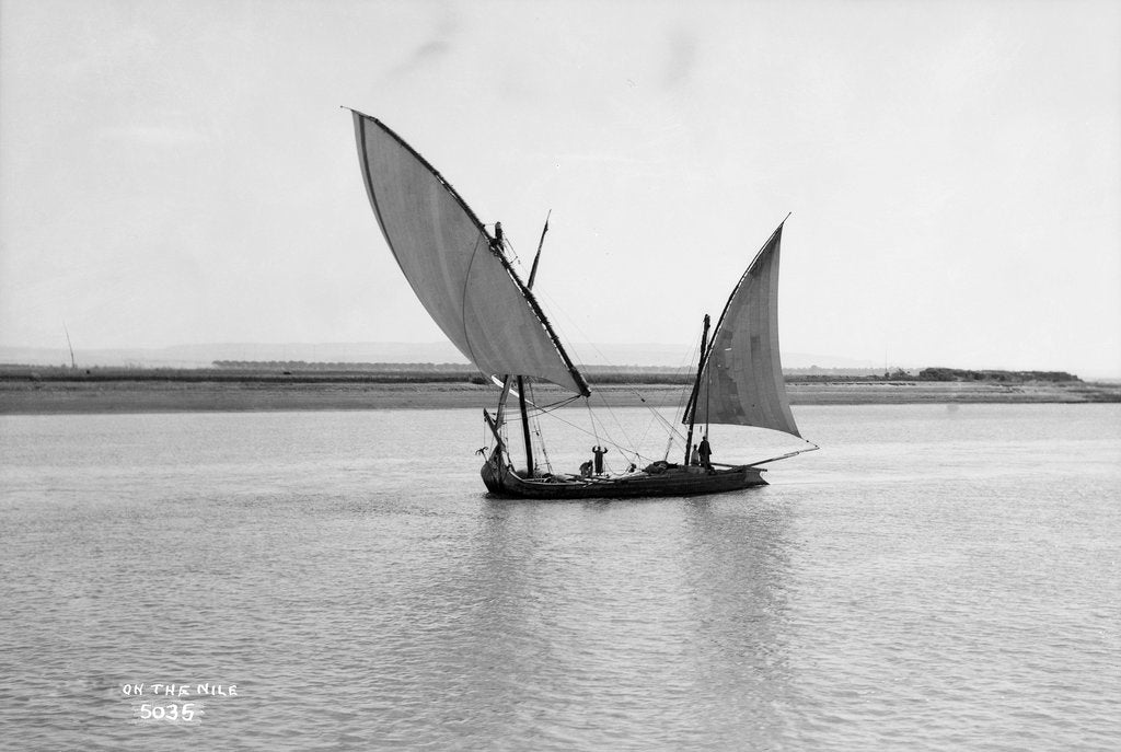 Detail of Gaiassa on the river Nile, Egypt by Marine Photo Service