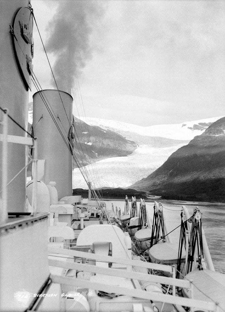 Detail of Svartisen Galcier, Norway by Marine Photo Service