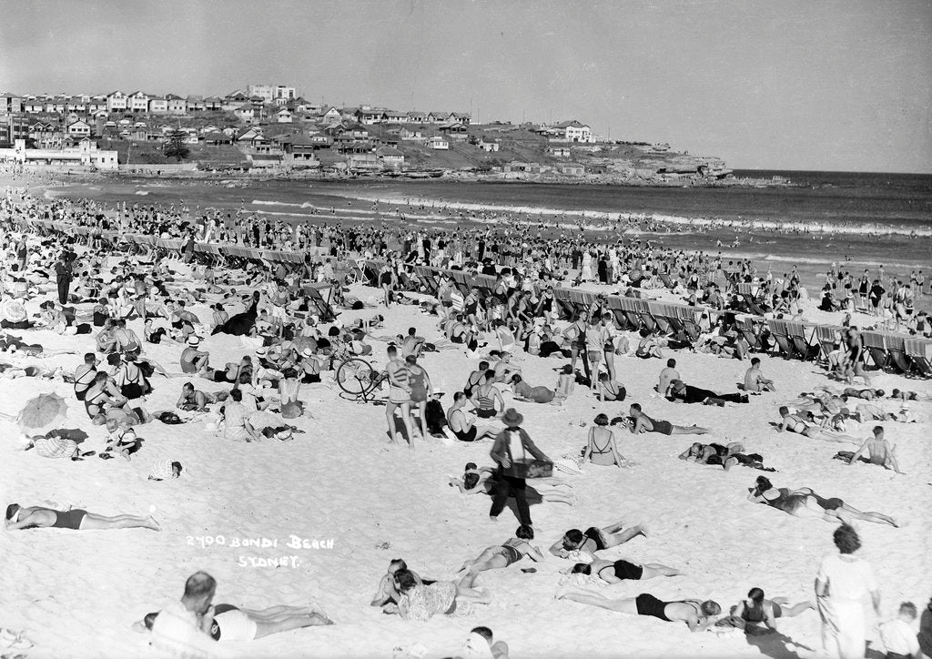 Detail of Bondi Beach, Sydney, Australia by Marine Photo Service