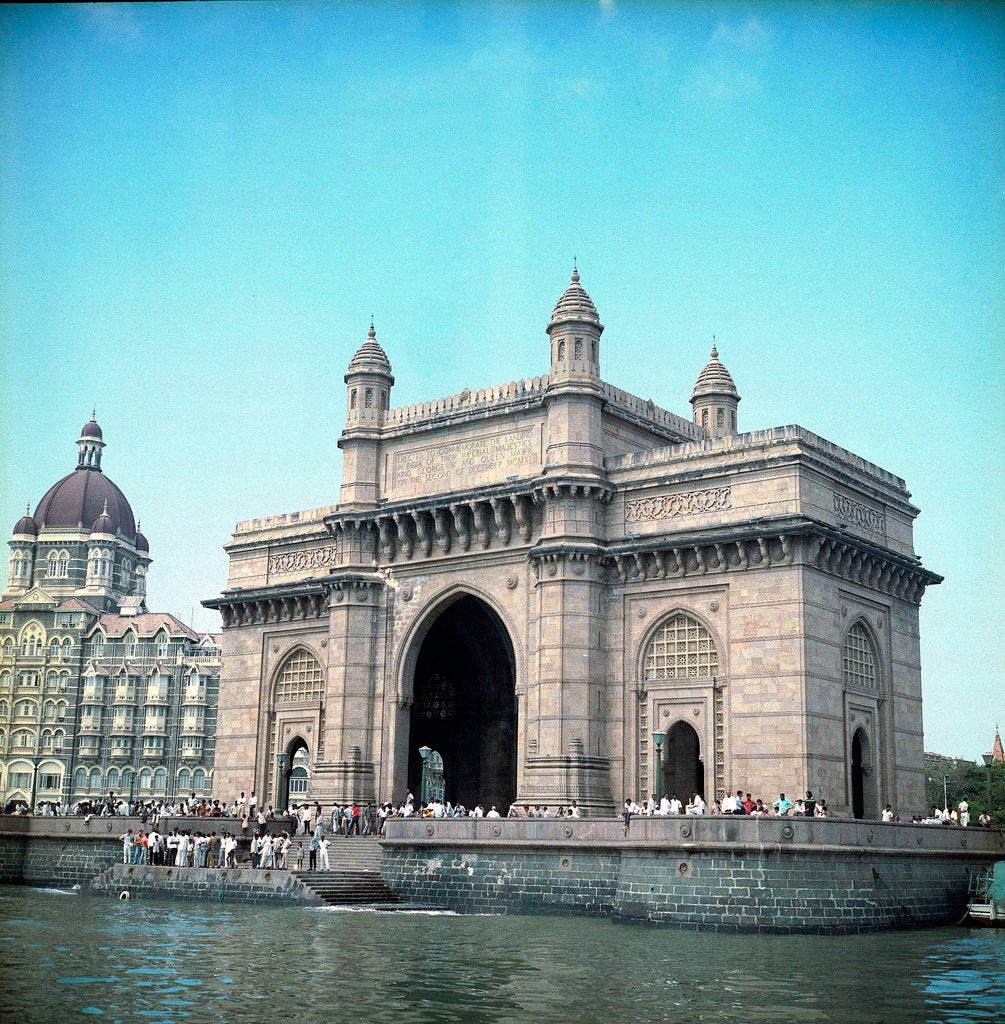 Detail of Bombay (Mumbai), India by Marine Photo Service