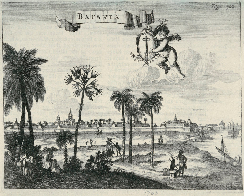 Detail of Batavia by unknown