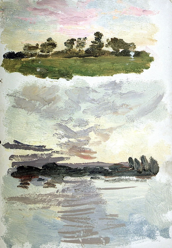 Detail of Landscape Studies, Possibly Holland by William Lionel Wyllie